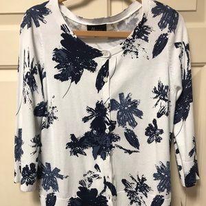 Brand new floral print cardigan.